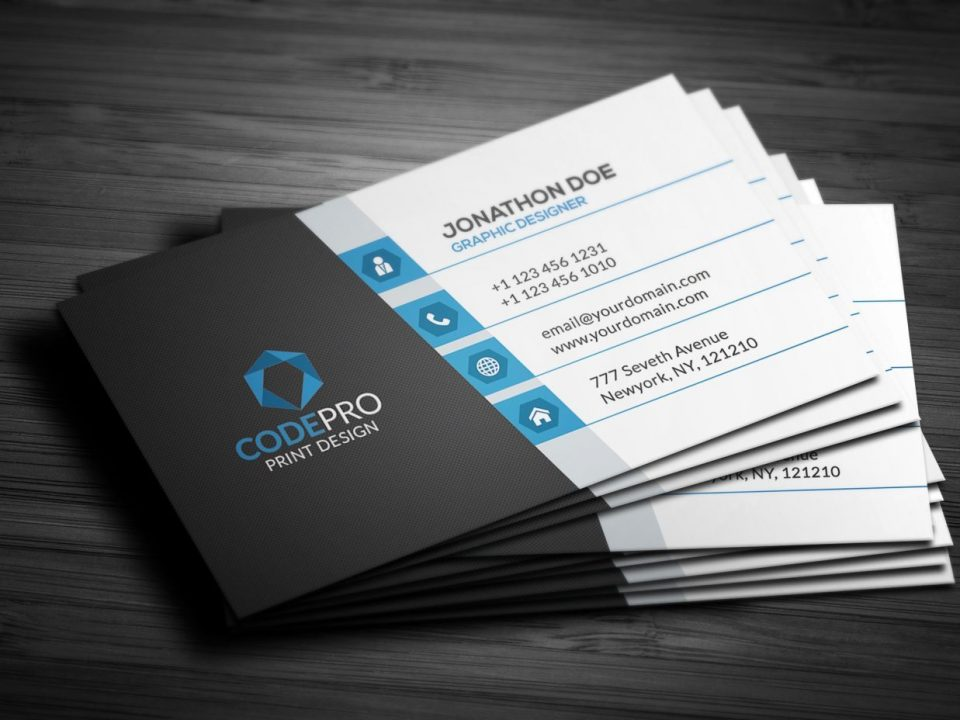 What Information to Put on a Business Card