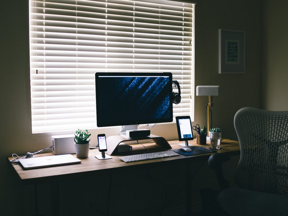 Work from Home Office Setup